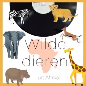 Themaplaatje Wilde dieren - Afrika